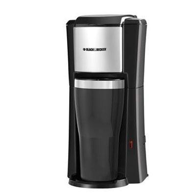 BD SnglServe CoffeeMkr Blk