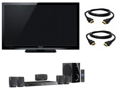 42` VIERA Full HD (1080p) LED TV - TC-L42E3 + BTT270 Home Theater System Bundle