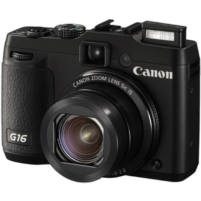 PowerShot G16 12.1 MP Digital Camera - OPEN BOX