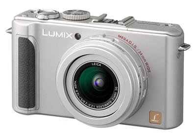 DMC-LX3S 10 MP Digital Camera with 2.5x Optical Zoom (Silver) - OPEN BOX
