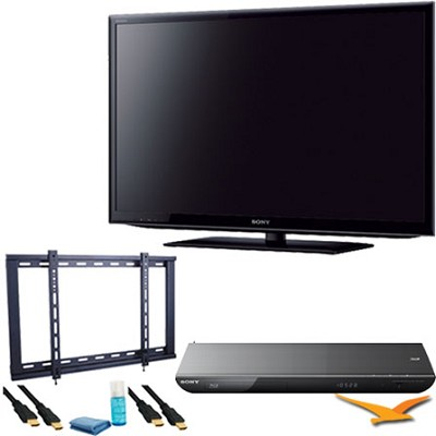 KDL55HX750 55 inch 3D Wifi XR 480hz LED HDTV + BDPS590 3D Wifi Blu Ray