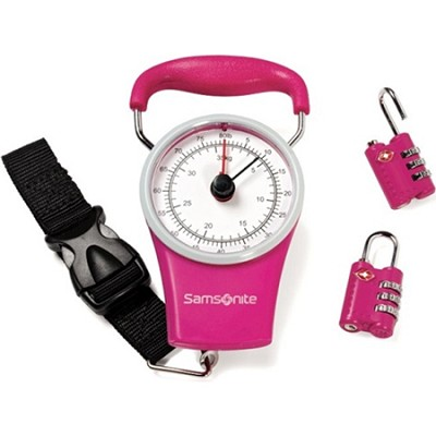 samsonite manual luggage scale review