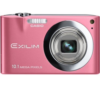 Exilim EX-Z100 10.1MP Digital Camera with 2.7` LCD (Pink)