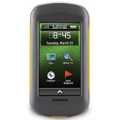 Montana 600 Rugged Touchscreen Worldwide GPS