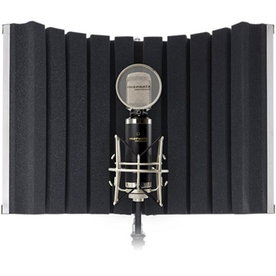 Studio Sound Shield Compact Folding Vocal Reflection Panel for Studio Recording