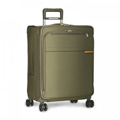 Baseline Collection 25` Medium Expandable Luggage Spinner (Olive) U125CXSP-7