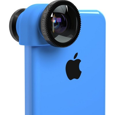 3-in-1 Lens System for iPhone 5C - Blue/Black