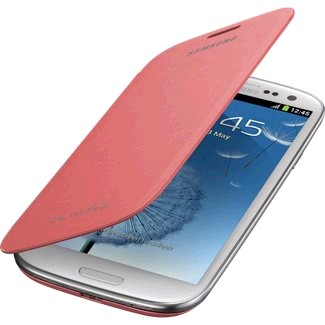 EFC-1G6FPEGSTA Flip Cover for Samsung Galaxy S III - Pebble Pink