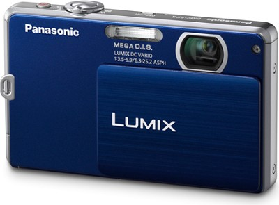 DMC-FP3AB LUMIX 14.1 MP Digital Camera (Dark Blue)