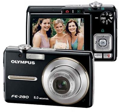 FE-280 Digital Camera (Black)