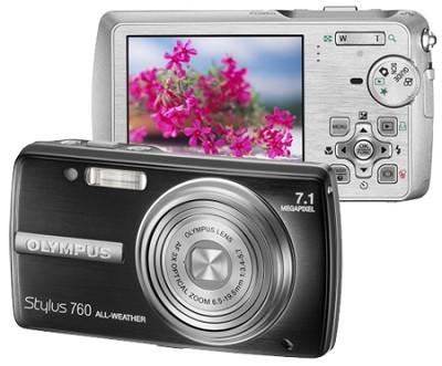Stylus 760 (Black) Digital Camera