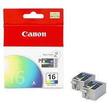 BCI-16 Color Ink Tank (Twin Pack)