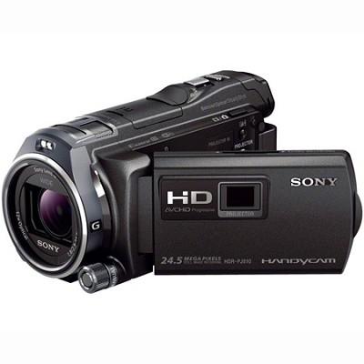 HDR-PJ810/B Full HD 60p/24p 32GB Camcorder w/ Advanced Manual Controls
