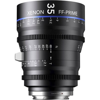 35MM Xenon Full Frame 4K Prime XN 2.1 / 35 Feet Lens for PL Mounts