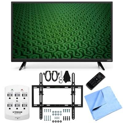 D32h-C0 - 32-Inch 60Hz HD 720p LED HDTV Flat/Tilt Wall Mount Bundle