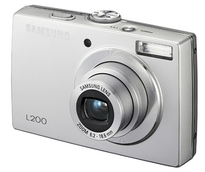 L200 10MP 2.5` LCD Digital Camera (Silver) NEW OPEN BOX
