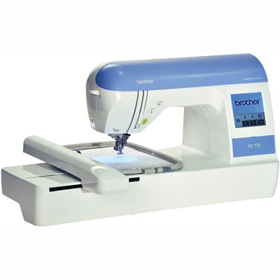 5` X 7` Embroidery-only Machine Built-in Memory 136 Designs, 6 Fonts, USB PE-770