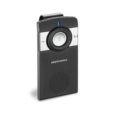 K100 In Car Speakerphone - Bluetooth, 2 Noise Reducing Microphones