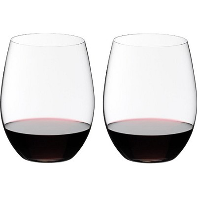 0414/00 Crystal Big `O` Wine Tumbler Cabernet Glass, Set of 2
