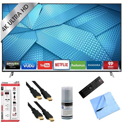 M50-C1 - 50-Inch 120Hz 4K Ultra HD M-Series LED Smart HDTV Hook-Up Bundle