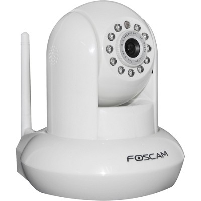 FI8910E Power Over Ethernet (POE) IP Camera - Black