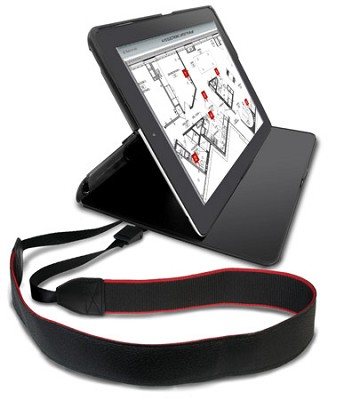 Protective Carry Case with Shoulder Strap for iPad 2