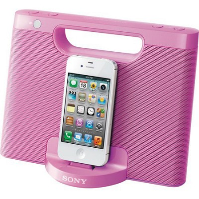 RDPM7IP/PINK Speaker Dock for iPod and iPhone (Pink)