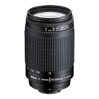 70-300mm F/4-5.6G AF Zoom-Nikkor Lens - OPEN BOX