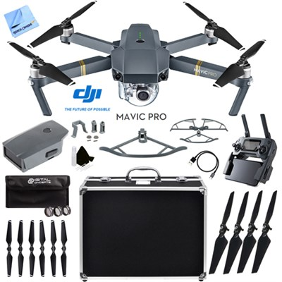 Mavic Pro Quadcopter Drone with 4K Camera and Wi-Fi  Ultra Kit