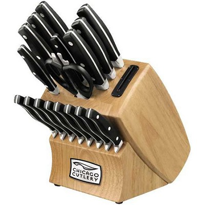 Insignia2 18-Piece Knife Block Set with In-Block Knife Sharpener - 1068062