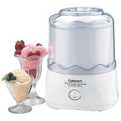 Ice-20 Automatic Frozen Yogurt-Ice Cream &Sorbet Maker