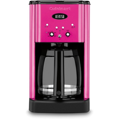 DCC-1200 Brew Central 12 Cup Programmable Coffeemaker - Pink - REFURBISHED