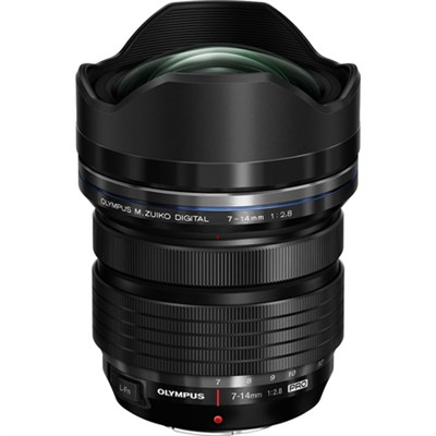M.Zuiko Digital ED 7-14mm f/2.8 PRO Lens for Micro Four Thirds Camera - OPEN BOX