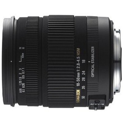 18-50mm f/2.8-4.5 SLD Aspherical DC Optical Stabilized Lens for Sony DSLRs