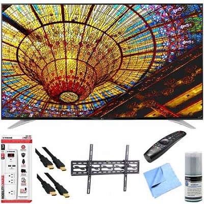 70UF7700 - 70` 240Hz 2160p 4K Smart LED UHD TV Plus Tilt Mount & Hook-Up Bundle