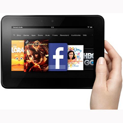Kindle Fire HD 7` HD Display, Wi-Fi, 16 GB