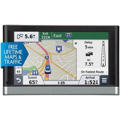 2598LMT HD 5` GPS with Bluetooth, HD Traffic- Refurb 1 Year Garmin Warranty