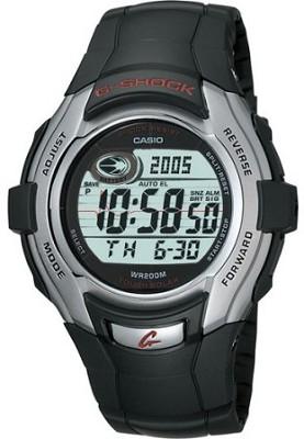 G7300-1V - G-Shock Tough Solar Black Resin Band Watch w/ 100-hour Stopwatch