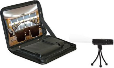 BK-PK30DF Pico Portfolio with Built-In Screen and Tripod