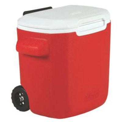 16-Quart Personal Wheeled Cooler in Red - 3000001169