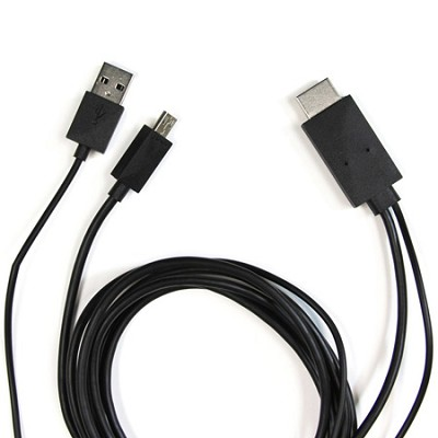 HDMI 11-pin MHL CABLE for Samsung Galaxy S3 and Galaxy Note 2 smartphones