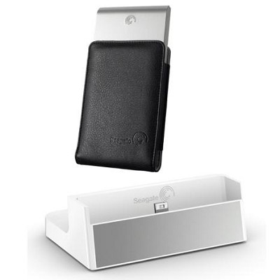 FreeAgent Go 250 GB USB 2.0 Portable External Hard Drive (Silver)