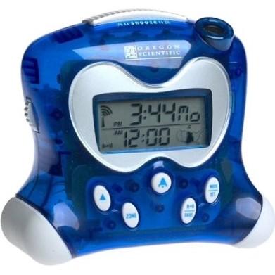 RM313PNA Self-Setting Projection Clock- Blue