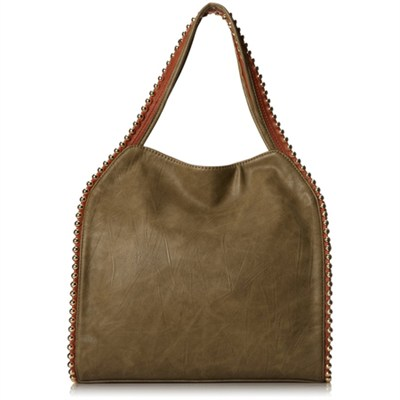 Grayson Shoulder Bag - Khaki