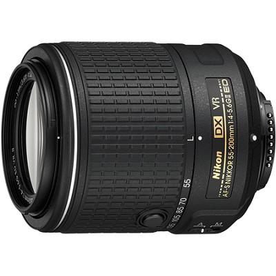 AF-S DX NIKKOR 55-200mm f/4-5.6G ED VR II Lens - OPEN BOX