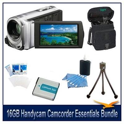 DCR-SX63 16GB Handycam Camcorder Essentials Bundle