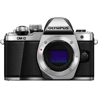 OM-D E-M10 Mark II Mirrorless Micro Four Thirds Digital Camera Body (Silver)