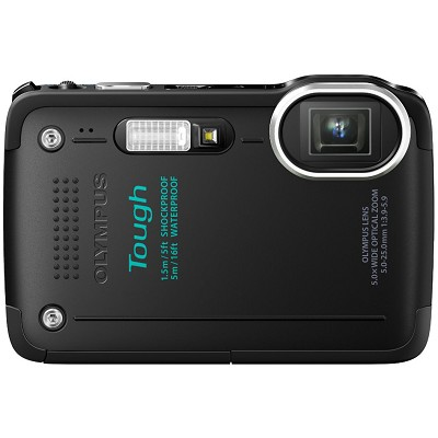 STYLUS TOUGH TG-620 3-inch LCD 1080p HD Digital Camera - Black