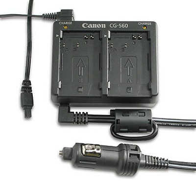 CR-560 Charger and Car Battery Kit For BP-511/522