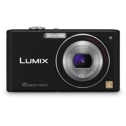 DMC-FX37K - Stylish Compact 10 Megapixel Digital Camera (Black)